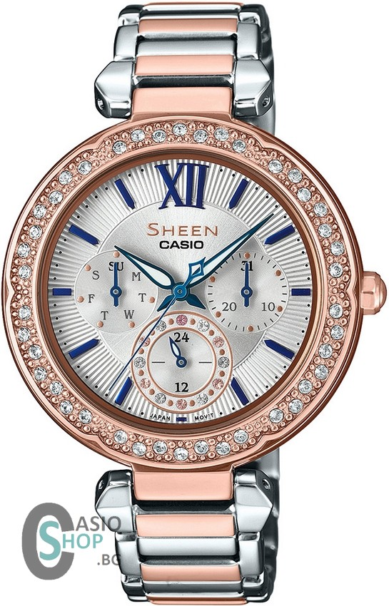 Casio Sheen Swarovski Edition SHE-3061SPG-7B