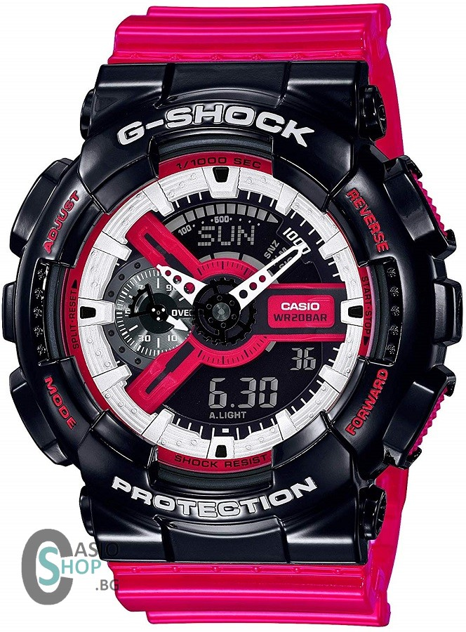 Casio G-Shock Red Black GA-110RB-1A