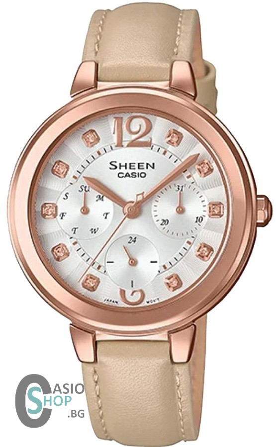 Casio Sheen Swarovski Edition SHE-3048PGL-7B
