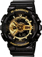 Casio G-Shock Gold Black GA-110GB-1A