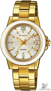 Casio Sheen Swarovski Edition SHE-4512G-7A