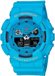 Casio G-Shock Rock Music Series GA-100RS-2A