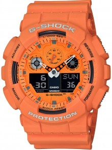 Casio G-Shock Rock Music Series GA-100RS-4A