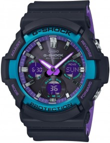 Casio G-Shock Special Color Blue Purple GAW-100BL-1A
