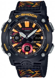 Casio G-Shock Bhutan Textile Limited Edition GA-2000BT-1A
