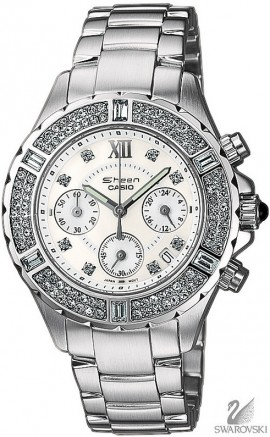 Casio Sheen Swarovski Edition SHN-5503D-7A