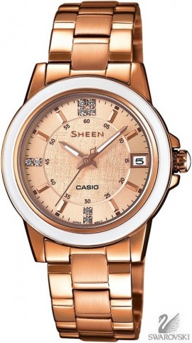 Casio Sheen Swarovski Edition SHE-4512PG-9A