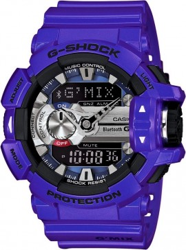Casio G-Shock Bluetooth Music Control G'MIX GBA-400-2A