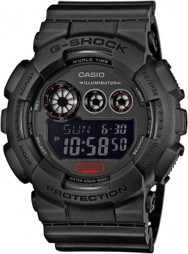 Casio G-Shock Mission Black GD-120MB-1E