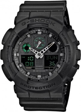 Casio G-Shock Mission Black GA-100MB-1A