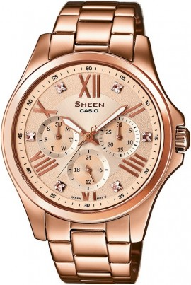 Casio Sheen Swarovski Edition SHE-3806PG-9A