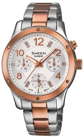 Casio Sheen Swarovski Edition SHE-3807SPG-7A