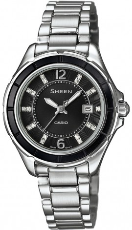 Casio Sheen Swarovski Edition SHE-4045D-1A