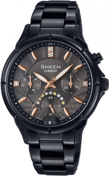 Casio Sheen Swarovski Edition SHE-3047B-1A