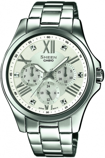 Casio Sheen Swarovski Edition SHE-3806D-7A