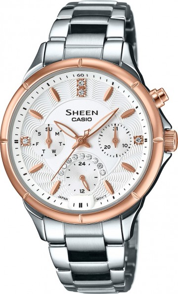 Casio Sheen Swarovski Edition SHE-3047SG-7A