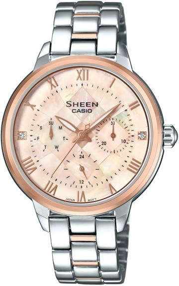 Casio Sheen Swarovski Edition SHE-3055SPG-4A