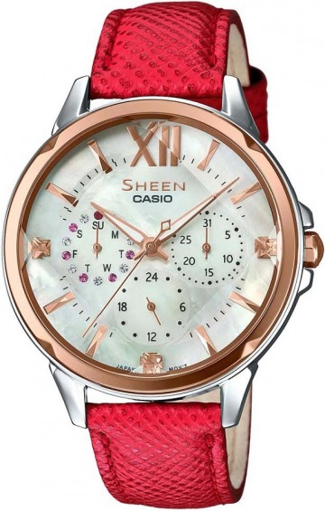 Casio Sheen Swarovski Edition SHE-3056GL-7A