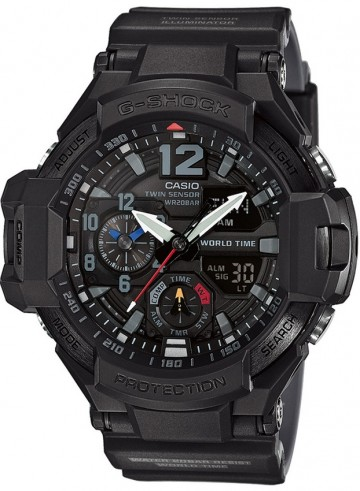 Casio G-Shock Sky Cockpit Aviator GA-1100-1A1