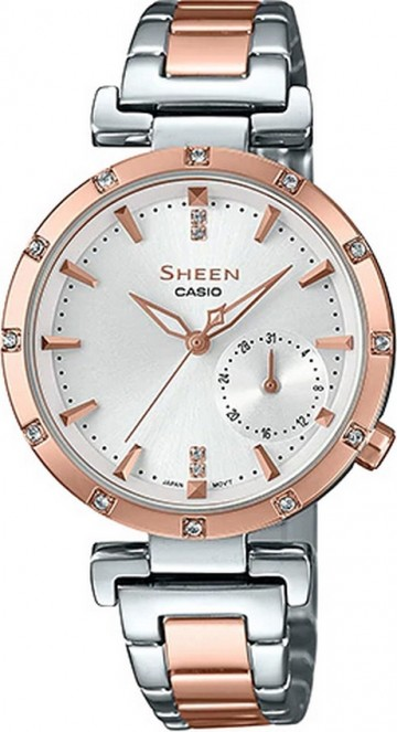 Casio Sheen Swarovski Edition SHE-4051SPG-7A