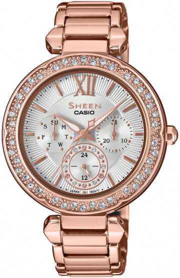 Casio Sheen Swarovski Edition SHE-3061PG-7B