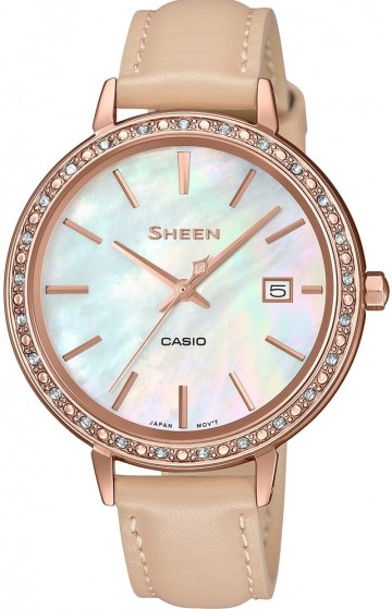 Casio Sheen Swarovski Edition SHE-4052PGL-7B