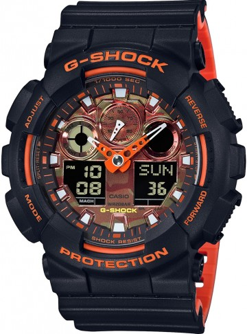 Casio G-Shock Special Color GA-100BR-1A