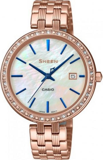 Casio Sheen Swarovski Edition SHE-4052PG-2A