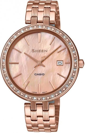 Casio Sheen Swarovski Edition SHE-4052PG-4A