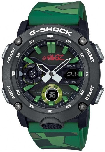 Casio G-Shock Gorillaz Limited Edition GA-2000GZ-3A
