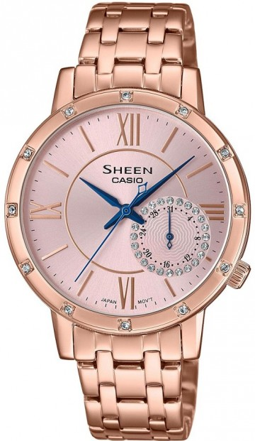 Casio Sheen Swarovski Edition SHE-3046PG-4A