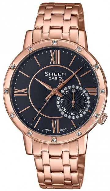 Casio Sheen Swarovski Edition SHE-3046PG-8A