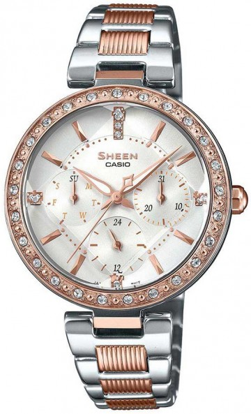 Casio Sheen Swarovski Edition SHE-3068SPG-7A