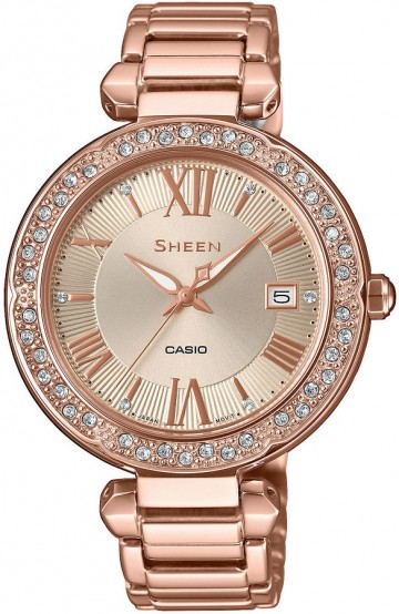 Casio Sheen Swarovski Edition SHE-4057PG-4A