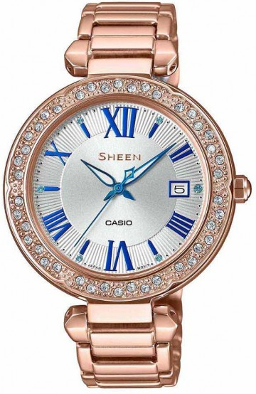 Casio Sheen Swarovski Edition SHE-4057PG-7А