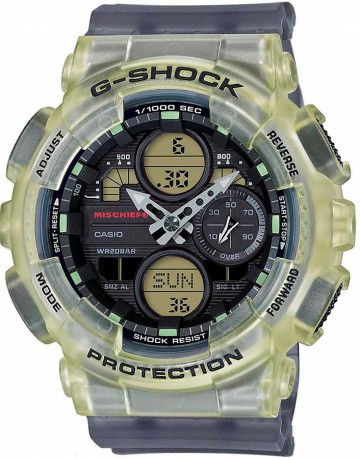Casio G-Shock MISCHIEF Limited Edition GMA-S140MC-1A